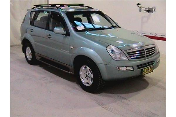 ssangyong rexton rx 270 xdi picture 5 reviews news. Black Bedroom Furniture Sets. Home Design Ideas