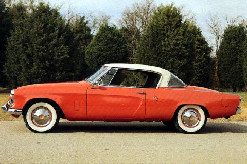 Studebaker Champion Regal Starliner coupe