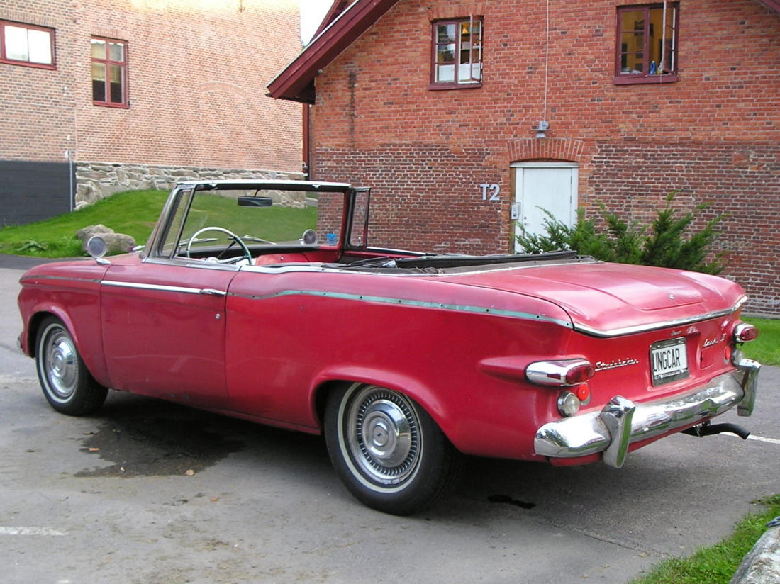Studebaker Regal Conv