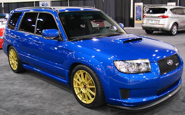 Subaru Forester Sti 02