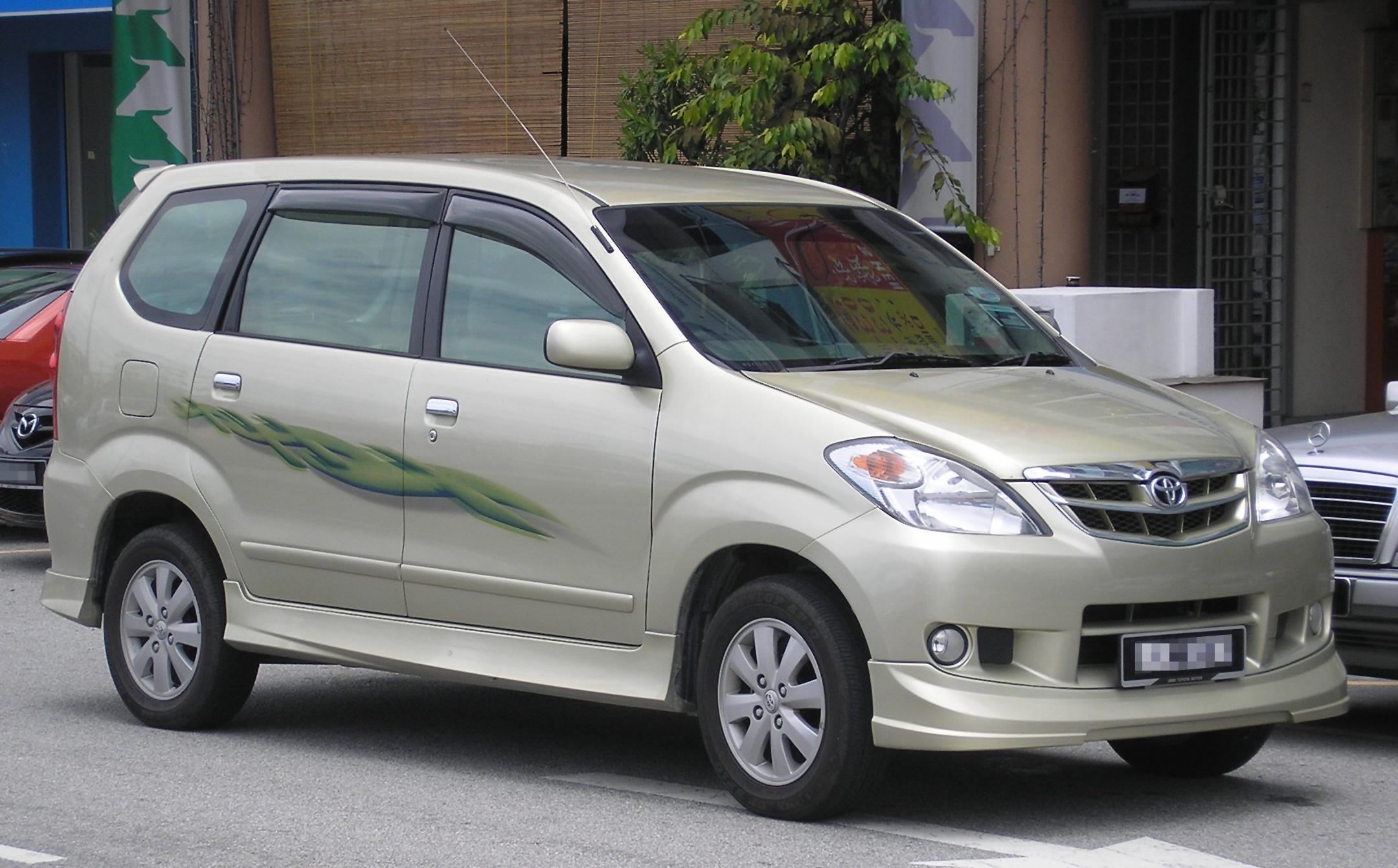 Car body sticker design malaysia - Avanza Sleeping Gif