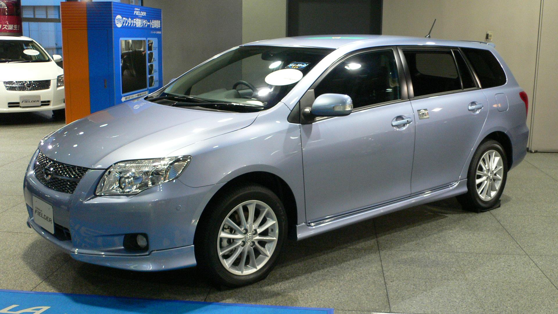 toyota fielder photos reviews news specs buy car