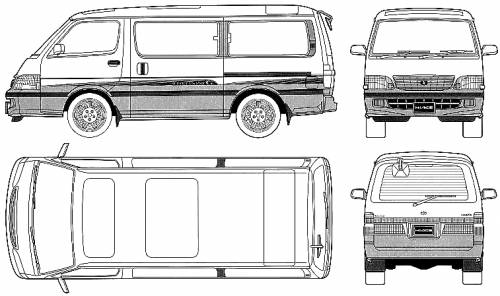 Toyota Hiace Custom:picture # 3 , reviews, news, specs