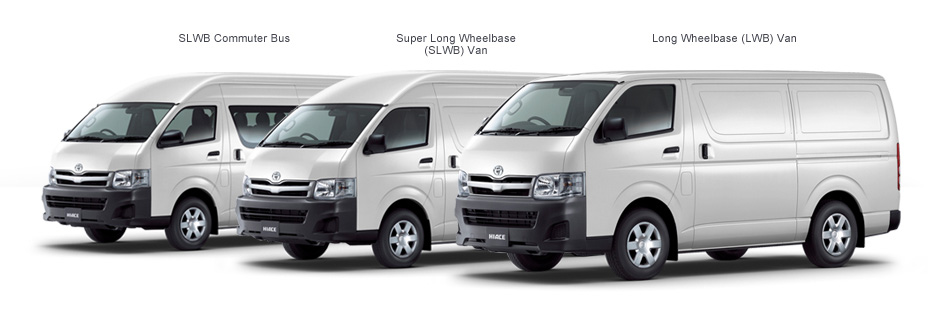 Excellent TheBlueprints  Vector Drawing  Toyota HiAce KZH100G