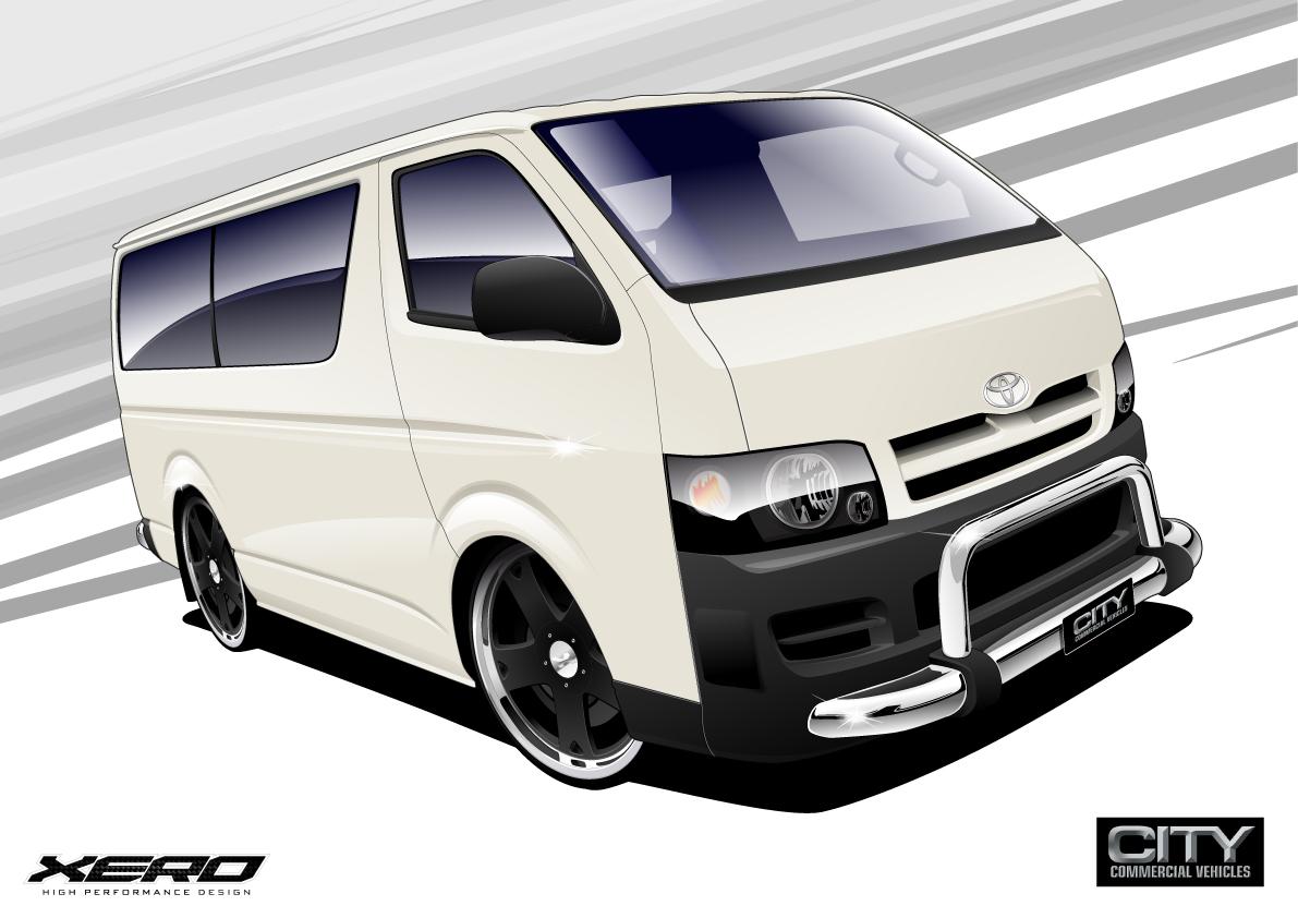 Toyota Hiace Vans – Toyota Hiace Vans