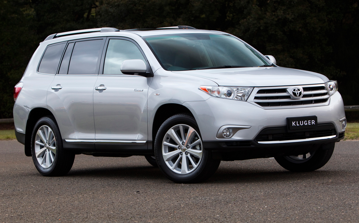 2013 Toyota Highlander >> Toyota Kluger:picture # 12 , reviews, news, specs, buy car