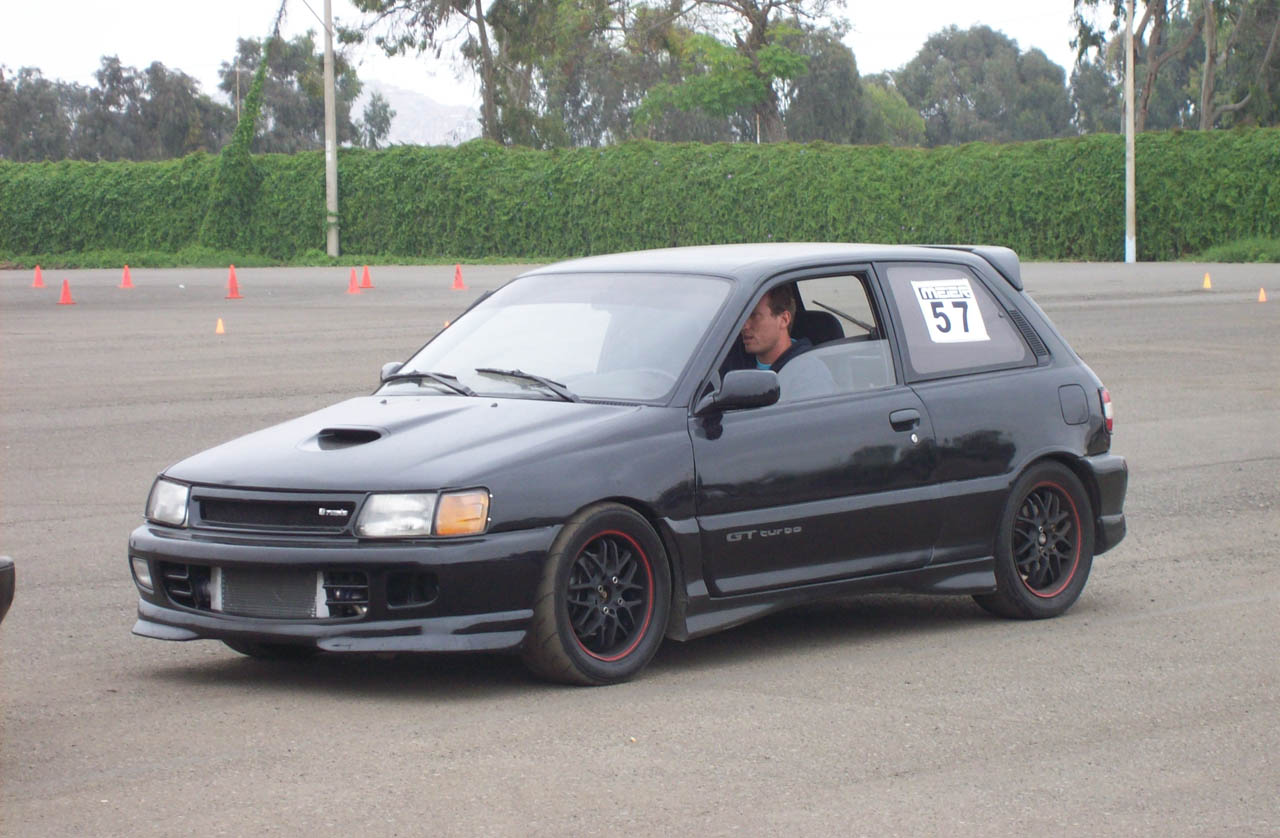 Toyota Starlet GT Turbo:picture # 5 , reviews, news, specs