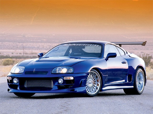 Toyota Supra Twin Turbo Modified Toyota Supra 2002 Twin Turbo