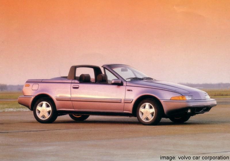 volvo 480es cabrio prototype photos reviews news specs buy car. Black Bedroom Furniture Sets. Home Design Ideas
