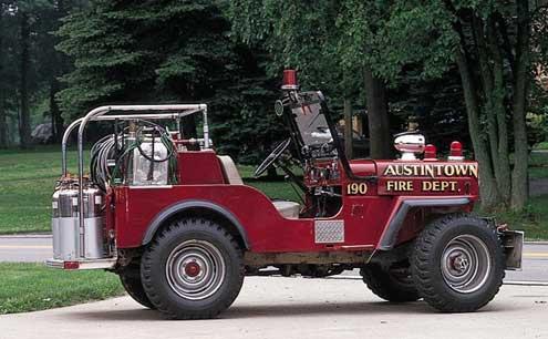 jeep willys cj 1964 cj3b fire truck pickup 3b brush jeeps trucks firetruck 1947 dept equipment rescue specs apparatus firefighter
