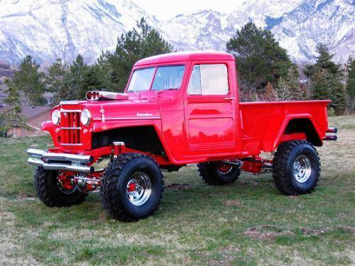 Willys Jeepster 4x4 Pickup:picture # 3 , reviews, news ...