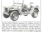 Ford M151-A1 Military Utility Tactical Truck