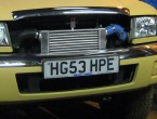 Mazda B2500 4WD Turbo Intercooler