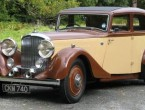 Bentley 3 litre Park Ward Sports saloon