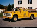 Ford F-700 Pierce pumper