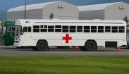 Blue Bird Ambulance Bus