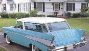 Chevrolet Bel Air Nomad 4-door Wagon