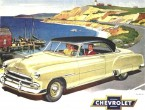 Chevrolet Styleline De Luxe Bel Air coupe