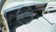 Chrysler Imperial instrument panel