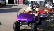 E-Z-GO Mud Bogger golf cart