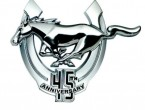 Ford Mustang GT 45th logo