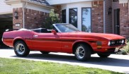 Ford Mustang Mach 1 convertible