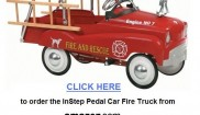 Instep Ladder Truck pedal car