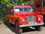Land Rover Fire Pump