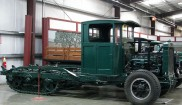 Linn 4-28 10 Ton Half-Track cab chassis
