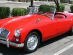 MG A roadster