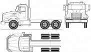 Mack GU813 Granite Axle-Back