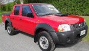 Nissan Navara 4WD Supercharger ute