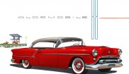 Oldsmobile 88 Holiday coupe
