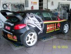 Peugeot 206 wrc replique
