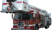 Pierce Ladder truck