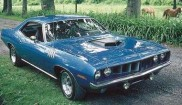 Plymouth Cuda coupe