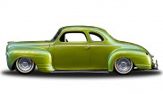 Plymouth De Luxe coupe
