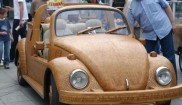 Volkswagen Wooden Car Custom