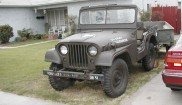Willys M38A1 Jeep 14 ton