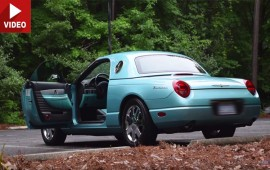 Regular Car Reviews' Spin On The 2002 Ford Thunderbird