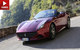 Ferrari Test Driver Raffaele De Simone Reviews New California T in Monaco