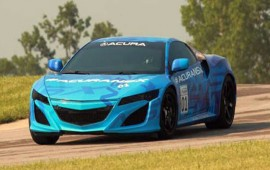 Acura NSX Concept will drive MidOhio prior to IndyCar race