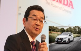 Honda8217s New CEO Can8217t Wait For His New Civic Type R To Be Delivered