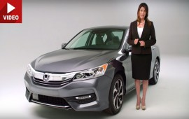This Lady Will Tell You What's New On The 2016 Honda Accord