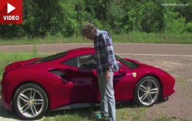 Watch Captain Slow's Aka James May Review Of The Ferrari 488 GTB