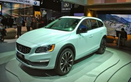 New Volvo V60 Cross Country At The LA Auto Show