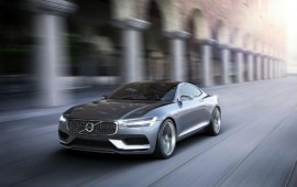 Volvo will introduce its concept coupe at the Frankfurt Auto show of 2013