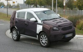 Kia works on renewals for a crossover Sportage