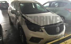 Buick Envision Crossover Caught Testing in the U.S.