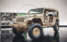 Fall In and Salute This Ridiculously Awesome Jeep Staff Car Concept